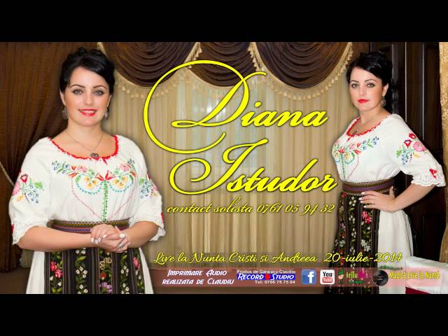 07 Diana Istudor LIVE (colaj SARBA) Nunta Cristi si Andreea 20-06-2014
