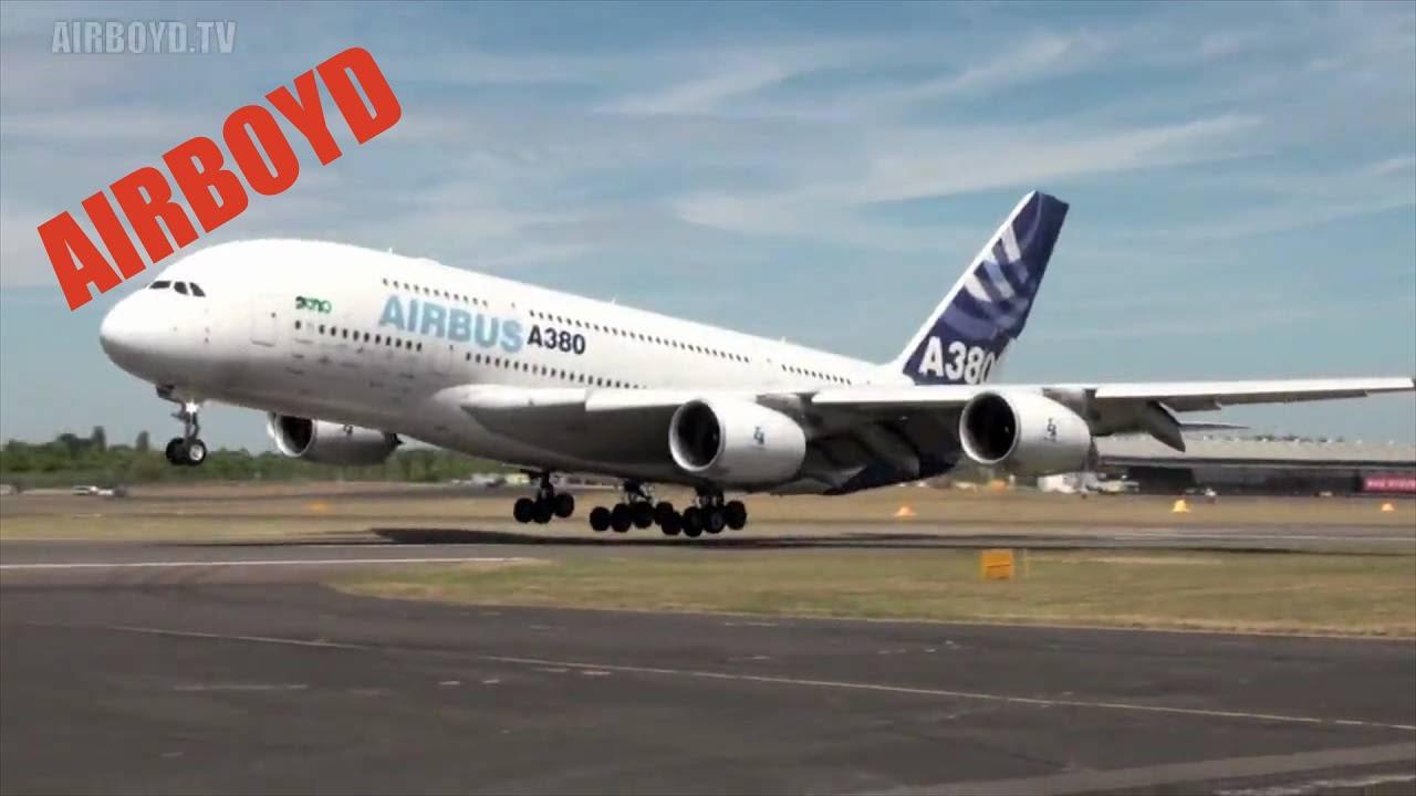 Airbus A380 Farnborough Air