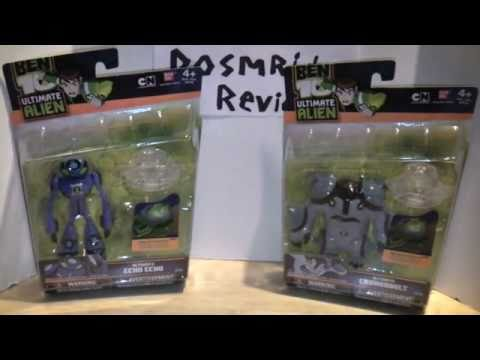 Ben 10 UA Ultimate Echo Echo and Cannonbolt Review
