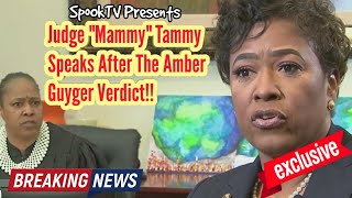 "**SpoOkTV EXCLUSIVE** Judge ""Mammy"" Tammy Kemp Speaks After Guyger Verdict!!"