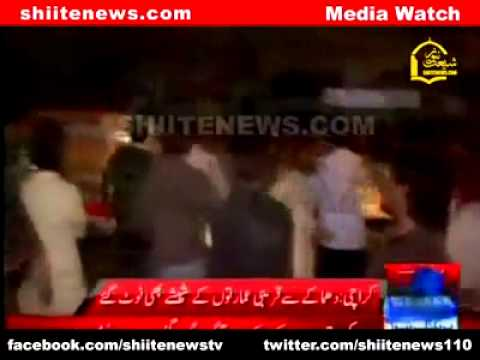 [Attack in Pakistan] - Karachi 50 dead, 200 hurt in Abbas Town twin blasts 3 March 2013