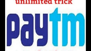 How to earn unlimited free Paytm cash october 2016