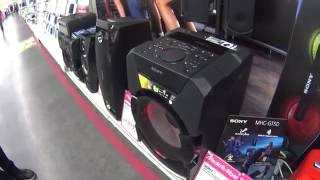 Sony MHC-GT5D Bass test