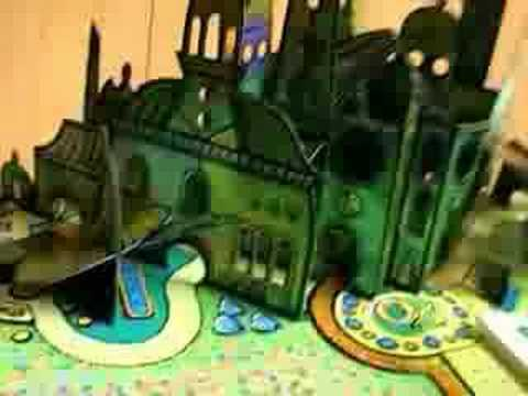 The Wonderful Wizard of Oz popup book