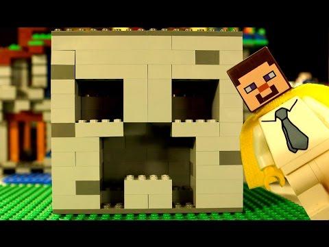 КРИПЕР :) Мультфильм Лего Майнкрафт для Детей - Lego Minecraft Survival Animation