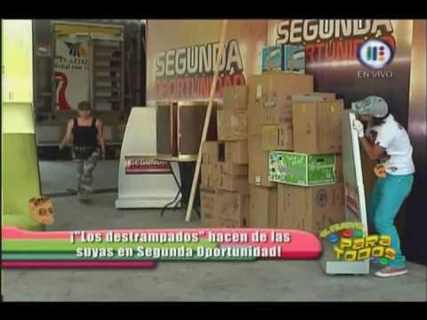 Broma de los Destrampados VIP 2da oportunidad El robot de carton