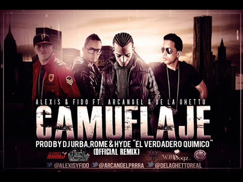 Alexis & Fido Feat. Arcangel & De La Ghetto - Camuflaje instrumental  original (xXkevinXx) 2012