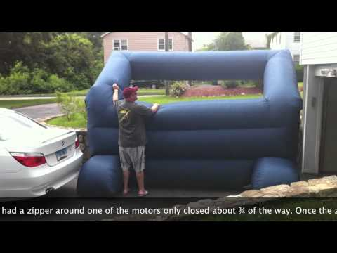 Gemmy Inflatable Screen Review