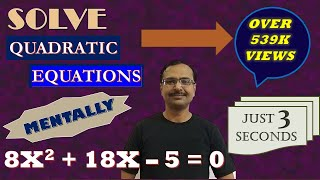 Trick 92 - Solve a Quadratic Equation Mentally