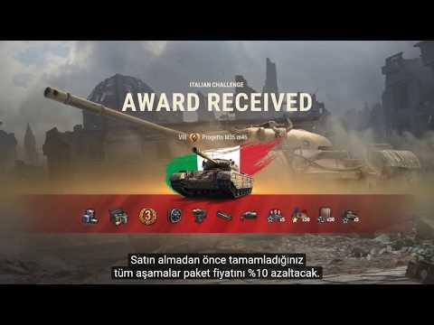 WoT || Bedava İtalyan Tankı Görevleri