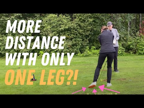 One Leg Swing - No Weight Shift