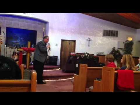 Paul Begley Preaching