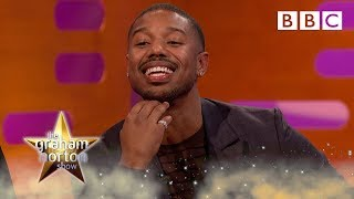Michael B Jordan reacts to YOUR Black Panther tweets - BBC