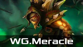 WG.Meracle — Bristleback, Offlane (Jan 16, 2018) | Dota 2 patch 7.07 gameplay