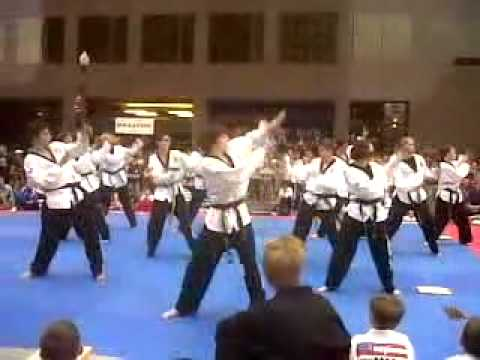 Colorado Springs Olympic Festival ALL TKD USA National Champions Show 2nd performance 07272012