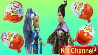 BÓC TRỨNG BẤT NGỜ TỪ QUÀ TẶNG CỦA BÚP BÊ KN Channel Kinder joy surprise egg