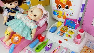 Baby doll doctor and hospital cart car toys Ambulance play - 토이몽