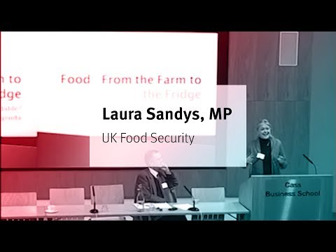 UK food security: from farm to fridge