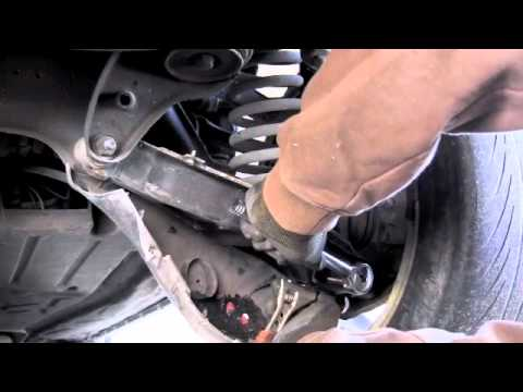 Mercedes W124 Rear Shock Replacement Youtube