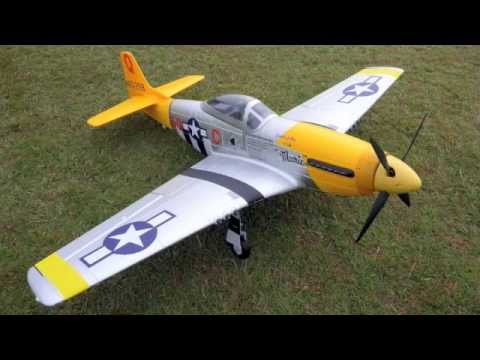 New FMS P-51 Mustang Marie Brushless Warbird with Retracts