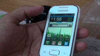 Samsung Galaxy Pocket S5300 review HD ( in ROmana ) - www.TelefonulTau.eu -