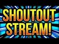 SHOUTOUT LIVE STREAM | AUTO SHOUTOUT WALL |  SUB COUNT &  AD SHOUTOUT WALL