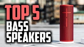 Best Bass Bluetooth Speakers in 2018 - Which Bluetooth Speaker Has The Most Bass?