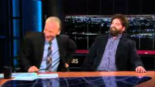 """Puff the Magic Dragon"" Featuring Zach Galifianakis and Bill Maher..."