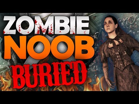 Black Ops 2 ZOMBIES: Buried - LonelyMailbox Attempt (Zombie Noob)