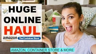 ONLINE HAUL 2018 \\ CONTAINER STORE, AMAZON & JCP \\ Style Mom XO
