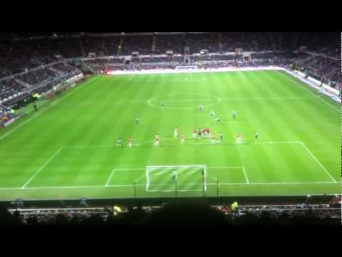 Yohan Cabaye free kick vs Manchester United (4th January 2012)