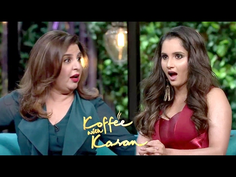 Sania Mirza And Farah Khan On Koffee With Karan Season 5