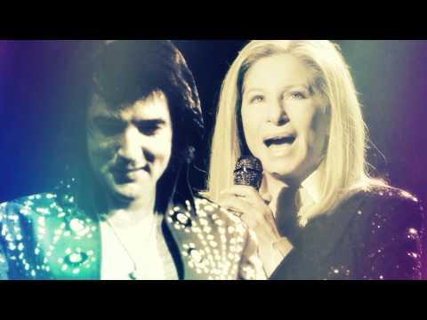 Barbra Streisand & Elvis Presley   Love me tender