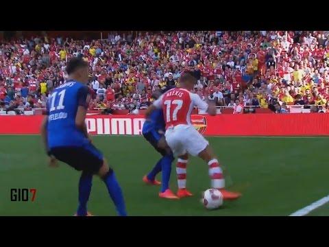 Alexis Sanchez vs Monaco ᴴᴰ 03-08-14