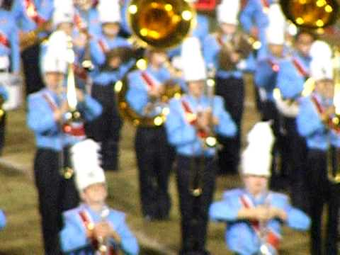 Southside High School Band Fall 2009 Halftime Show
