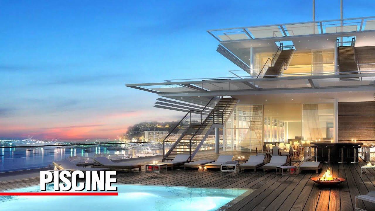 nouveau club house yacht club de monaco youtube. Black Bedroom Furniture Sets. Home Design Ideas
