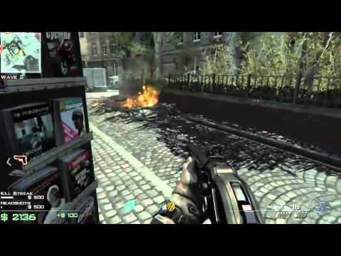 Call of Duty: Modern Warfare 3 SpecOps Survival: Paris Gameplay (Xbox 360)