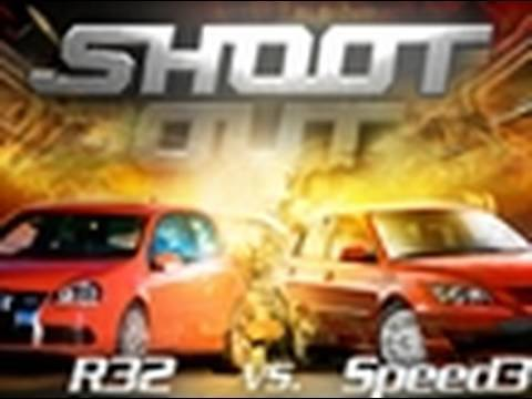 Shoot Out - VW R32 vs. Mazdaspeed3