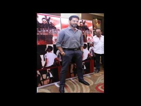 Actor Prabhu Deva Action Jackson Press Meet Photos