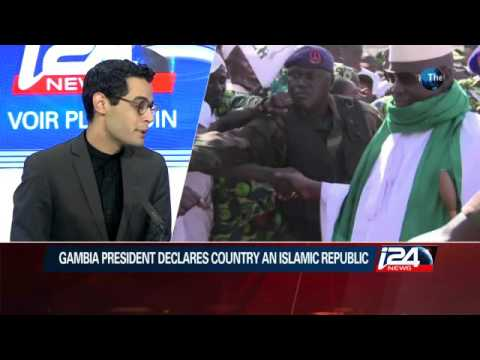 12/13: Gambia president declares country an Islamic Republic