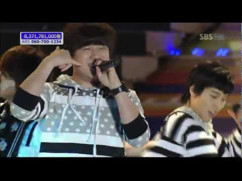 081004 Super Junior H -  Cooking Cooking! & Pajama Party video