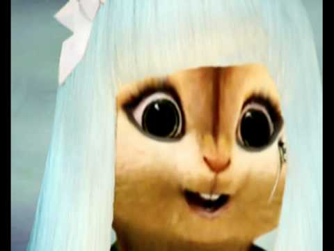 Lady Gaga - Poker Face (Chipmunk Version) Music Videos