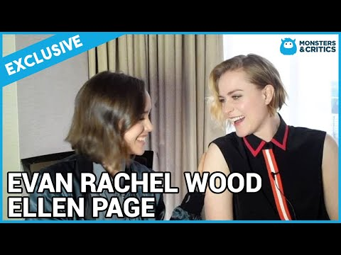 Evan Rachel Wood and Ellen Page Into the Forest interview