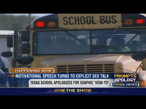 Hln: School Sex Talk Taken Too Far? video