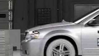 Crash Test 2008 Dodge Avenger/Chrysler Sebring (Front) IIHS