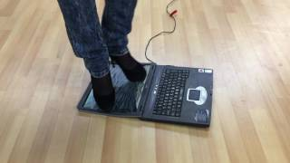 Girl crush laptop with sexy high heels part 3