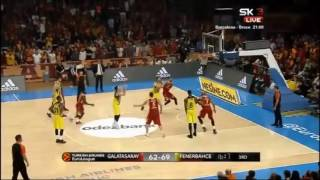 Kostas Sloukas Destroys Galatasaray - 24 PTS 7 ASSİST 27 RKG