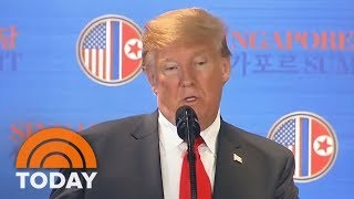 Kim Jong Un Vows To Denuclearize North Korea In Historic Summit With President Donald Trump | TODAY