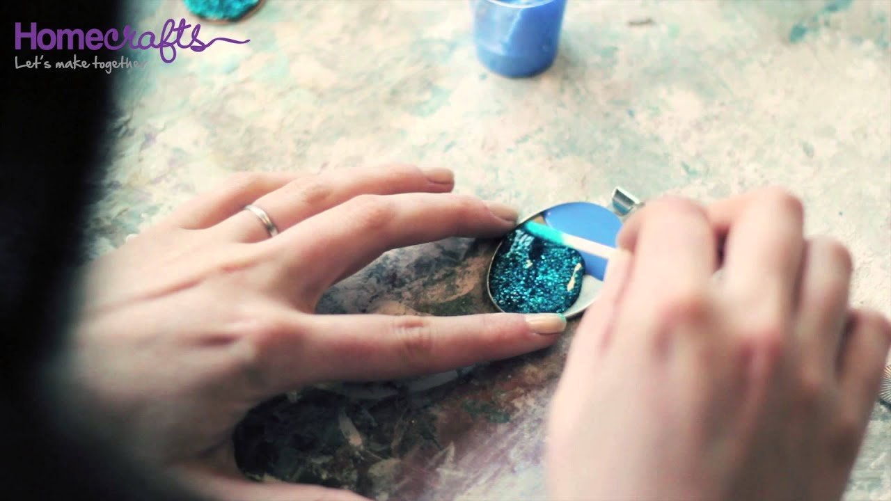 how to jewellery making with cold enamel youtube