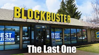 The Last BLOCKBUSTER On The Planet
